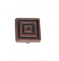 Emenee OR102 Small Square Cabinet Knob