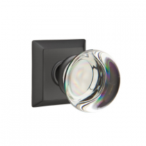 Emtek Providence Crystal Door Knob Set