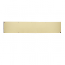 "Brass Accents A09-P0640 Kick Plate 6"" x 40"""