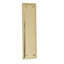 Brass Accents A07-P5400 Quaker Push Plate