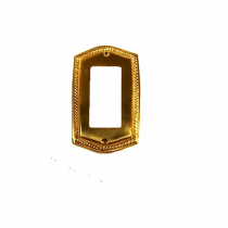 Brass Accents M06-S2620 Rope Single GFCI Switch Plate