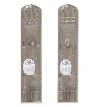 "Brass Accents D04-K584 Renaissance Collection Oxford Deadbolt Plate (3-3/8"" x 18"")"