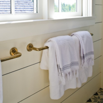 Rocky Mountain Continuous Bath Towel Bar-TB2