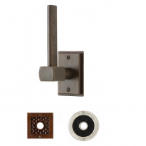 Rocky Mountain Tempo Vertical Toilet Paper Holder-TP4 (Designer Escutcheon)