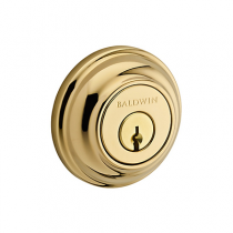 Baldwin Reserve Traditional Round Deadbolt