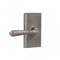 Weslock Molten Bronze Collection Waterford  Privacy Lever Set with choice of decorative rose