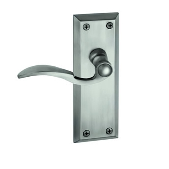 Grandeur Fifth Avenue Backplate with Bellagio lever AP Antique Pewter