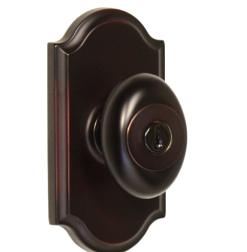Weslock 1740J Keyed Entry with Premiere Rose Oil Rubbed Bronze (10B)