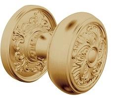 Baldwin Estate K005 Knob Set Vintage Brass (033)