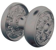 Baldwin Estate K005 Knob Set Antique Nickel (151)