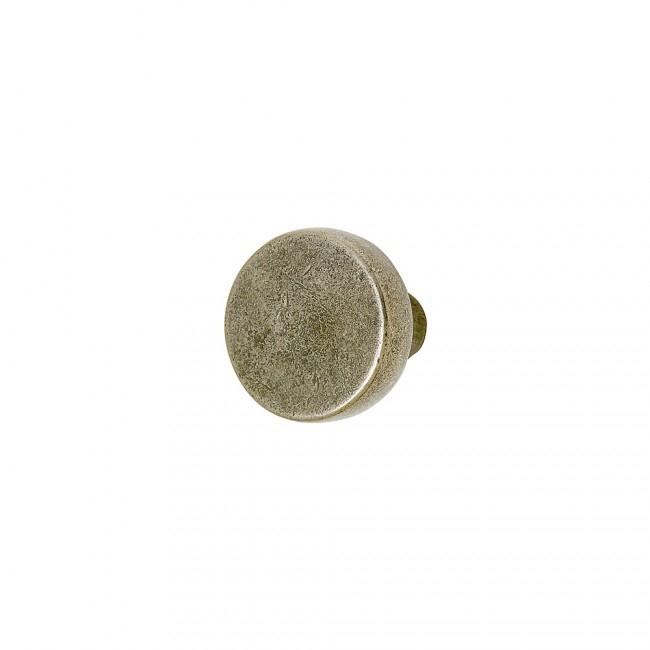 Rocky Mountain KB60 Small Luna Knob shown in White Bronze Medium Patina