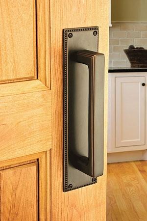 Emtek 86078 Brass Wilshire Door Pull
