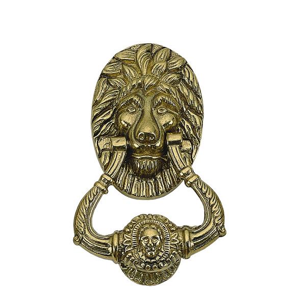 Brass A07-K5000, A07-K5010 Accents Lion Knocker
