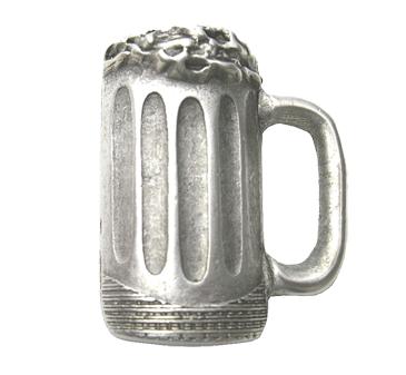 Emenee LU1283 Beer Mug Cabinet Knob in Warm Pewter (WPE)
