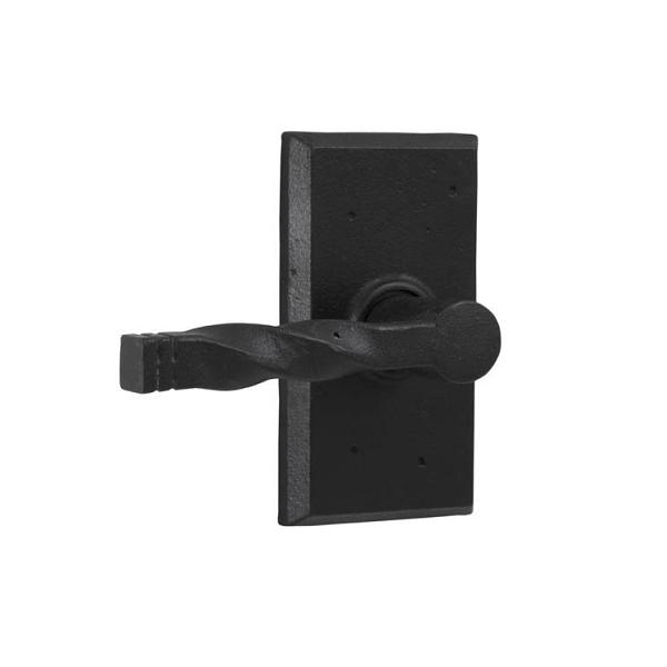 Weslock 7310N Monoghan Privacy with Square Rose Black
