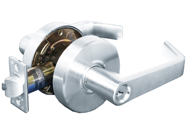 Pamex Extra Heavy Duty Grade 1 Montclair Entrance Lever in Satin Chrome (26D)