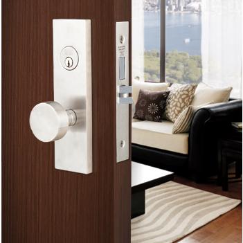 Emtek Mormont Stainless Steel Mortise Entrance Lockset,S3501, S3101