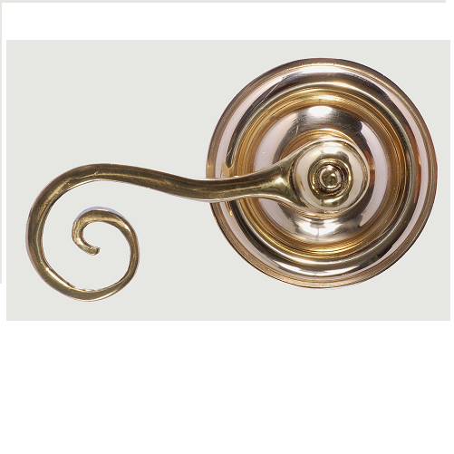 Brass Accents Netropol Rosette with choice of knob or lever