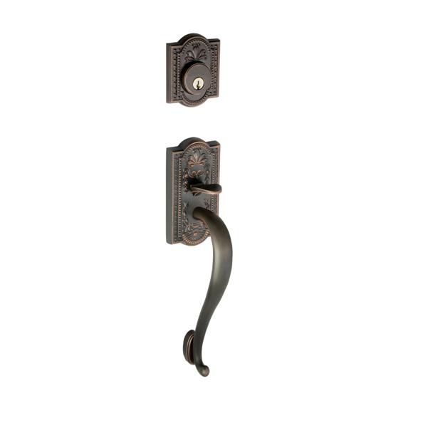 Nostalgic Warehouse Meadows Handleset w/ S Grip Timeless Bronze (TB)