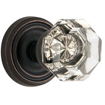Emtek Old Town Clear Door Knob Set Low Price Door Knobs