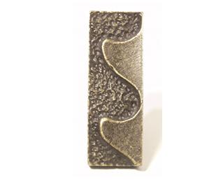 Emenee OR363 Wave Facing Left Cabinet Knob