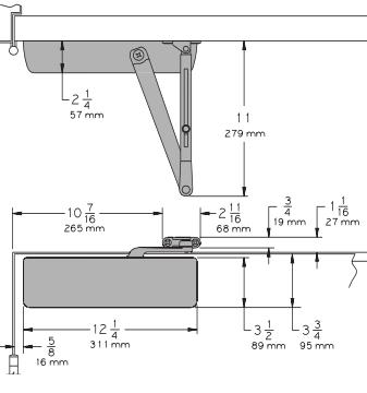Lcn 4041 Surface Mount Door Closer Low Price Door Knobs