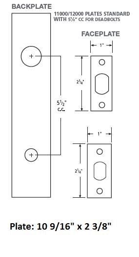 Omnia D12012 Deadbolt Lockset Low Price Door Knobs