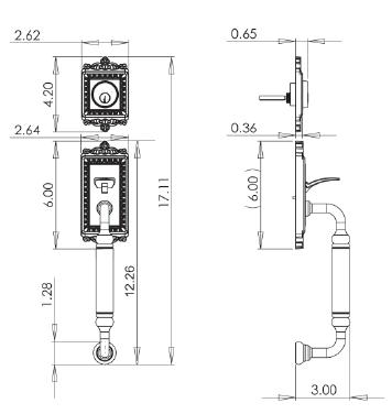 Schlage Double Cylinder Deadbolt Installation Instructions