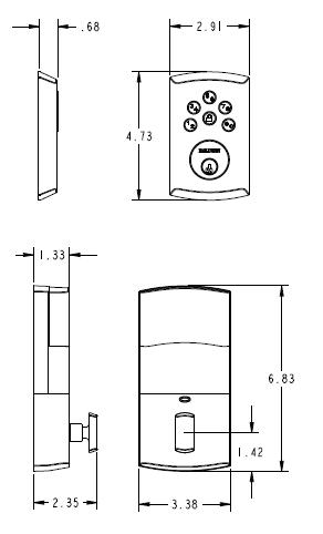 Baldwin Estate 8285 Ac1 Soho Keyless Entry Single Cylinder