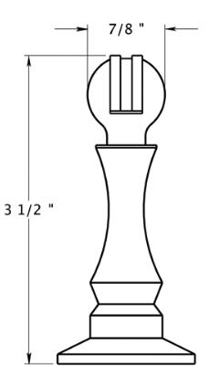 Deltana 3 1 2 Quot Solid Brass Magnetic Door Stop Amp Holder