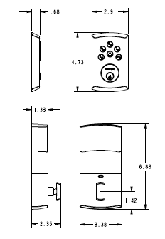 residential wiring codes with Baldwin Keyless Soho Sectional Handleset Soho Lever on Carrier Air Conditioner Parts Diagram as well L9000 Wiring Diagram likewise Kramer Wiring Diagram likewise 0151200 further Electrical Drawing Elevation.