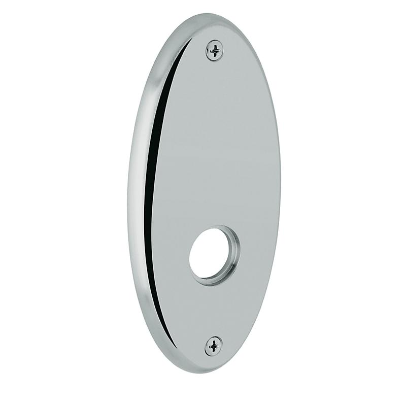 Baldwin Estate R040.PV Oval Privacy Function Rosette