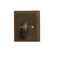 Emtek 8568 Rectangular Style Single Sided Deadbolt Oil Rubbed Bronze (US10B)