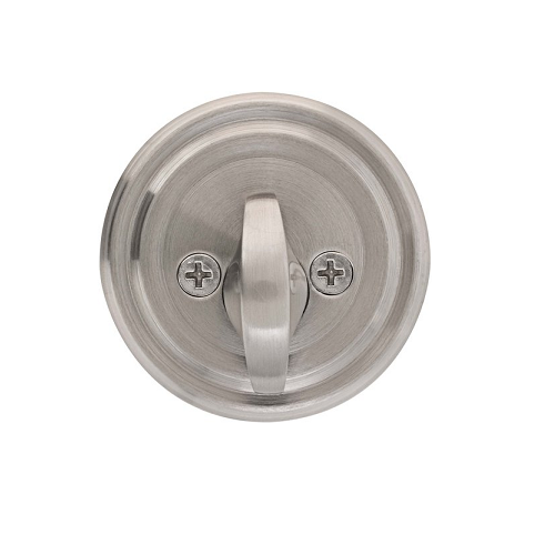Emtek 8550 Solid Brass Single Sided Deadbolt Satin Nickel (US15)