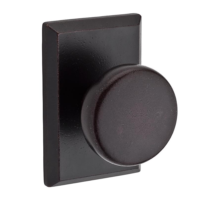Rustic Door Handles: Baldwin Reserve Rustic Knob