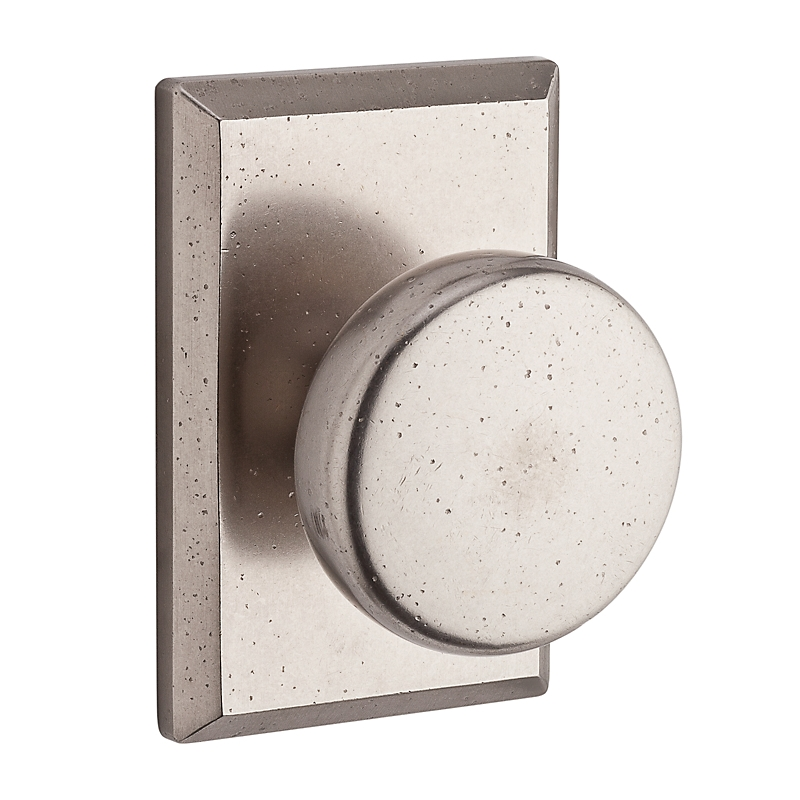Baldwin reserve rustic knob modern door knobs interior - Contemporary interior door knobs ...