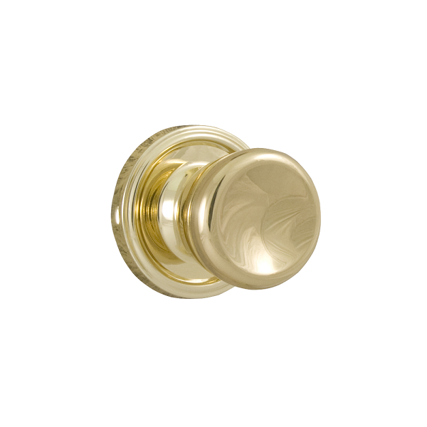 Weslock 605-O Sonic Dummy Polished Brass (3)