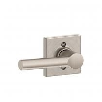 Schlage F170-BRW-COL Broadway Single Dummy Door Lever Set with Collins Rose