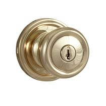 Weslock 640-O Keyed Entry Lifetime Polished Brass (L03)