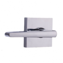 Weslock Transitional Collection Philtower Passage Lever Set Polished Chrome