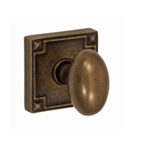 Fusion Sonoma Egg Door Knob 02 with Sonom Rose Medium Bronze