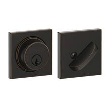Schlage B60-COL Single Cylinder Grade 1 Collins Deadbolt Aged Bronze (716)