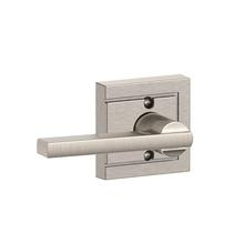 Schlage F170-LAT-ULD Latitude Single Dummy Door Lever Set with Upland Rose