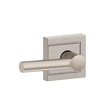 Schlage F10-BRW-ULD Broadway Passage Door Lever Set with Upland Rose