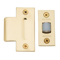 Baldwin 0440 Adjustable Roller Latch in Polished Brass (030)