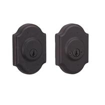 Weslock 7572 Premiere Double Cylinder Oil Rubbed Bronze (10B)
