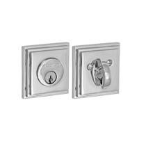 Fusion 100-A9 Stepped Square Deadbolt Polished Chrome (PLC)