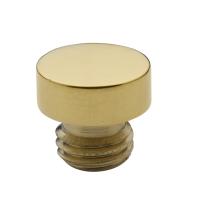 Baldwin 1081 Solid Brass Button Tip Finals for Radius Corner Hinge
