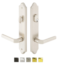 Emtek 1271 Configuration #2 CONCORD Style Multi-Point Trim for Patio Doors