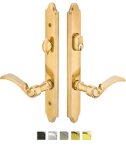 Emtek 1471 Configuration #4 Brass CONCORD Style Multi-Point Trim for Patio Doors